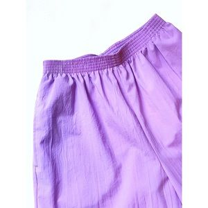 Vintage Shorts - Vintage Bonworth lavender high waisted shorts